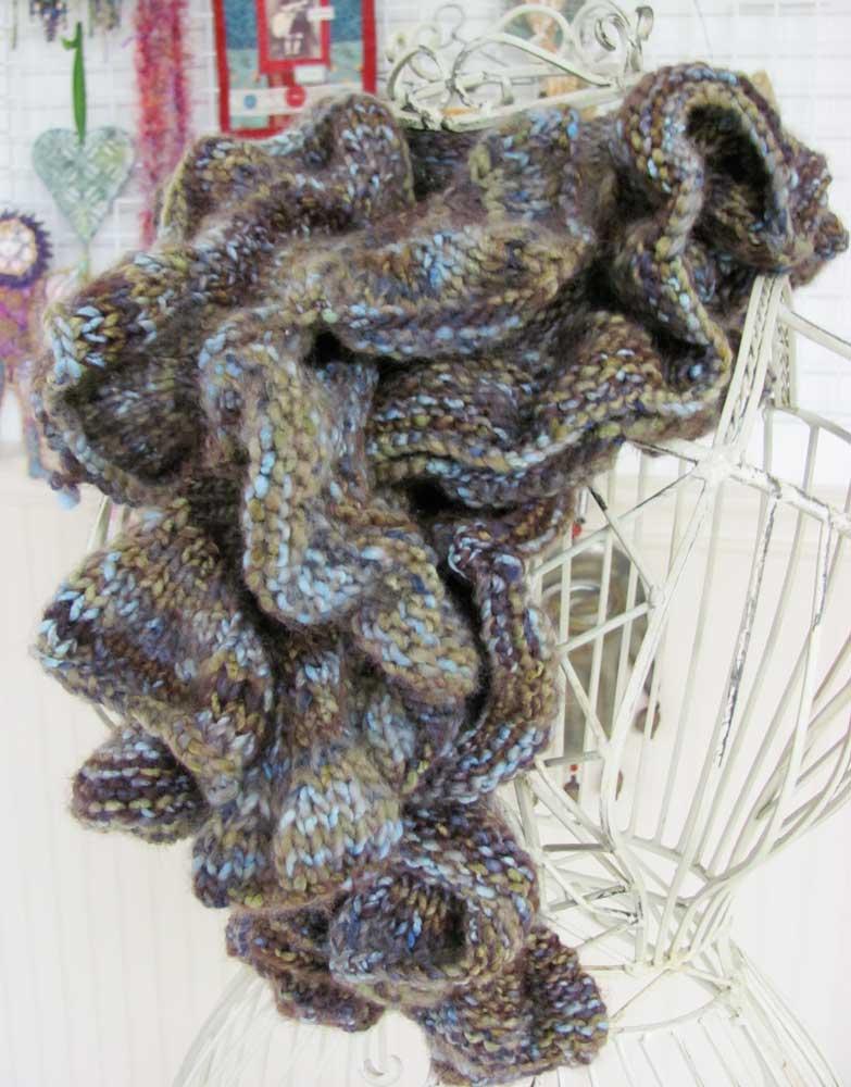 Brown-scarf-