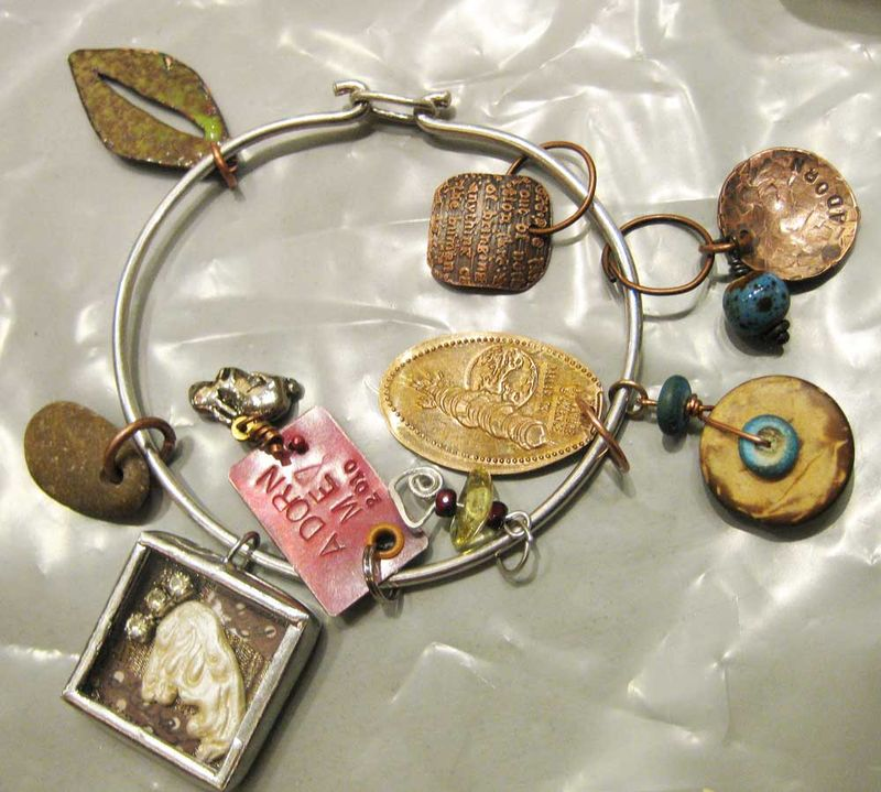 Charm-bracelet-from-trades-