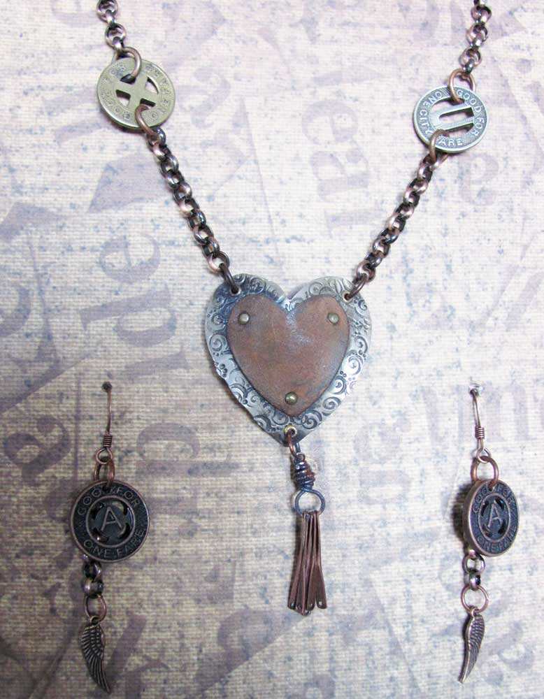 Necklace-and-earrings-
