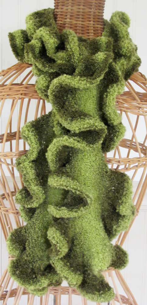 Green-ruffle-