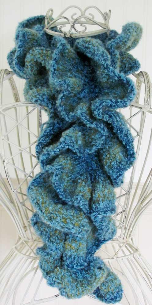 Teal-scarf-